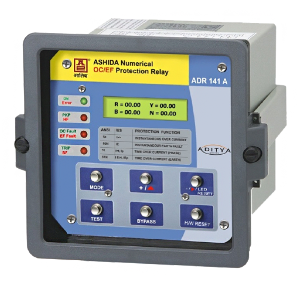 over current & earth fault protection relay