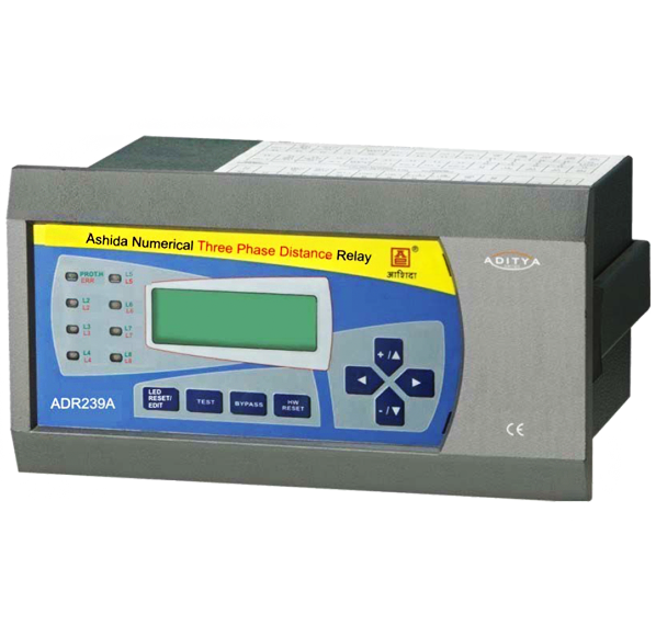 Adr239a 3phase Distance Protection Relay